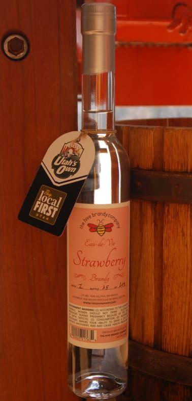 The Hive Strawberry Eau-da-Vie Brandy