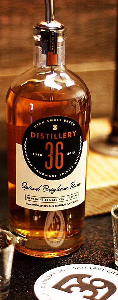 Distillery 36 Spiced Brigham Rum