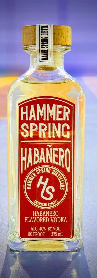 Hammer Spring Habanero Vodka