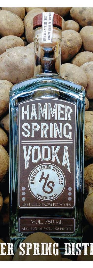 Hammer Spring Potato Vodka