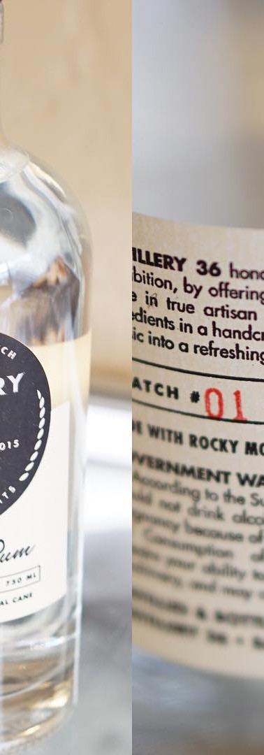 Distillery 36 Brigham Rum