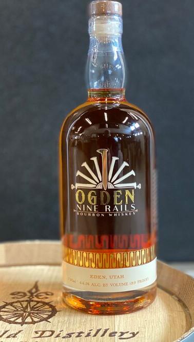 New World Ogden Nine Rails Bourbon Whiskey