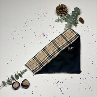 Beige Tartan - Burberry Style - Back