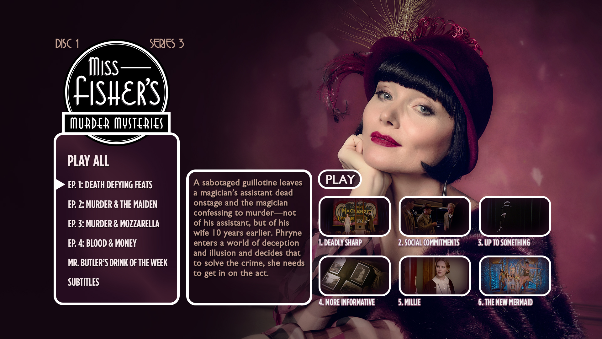Miss Fisher BD