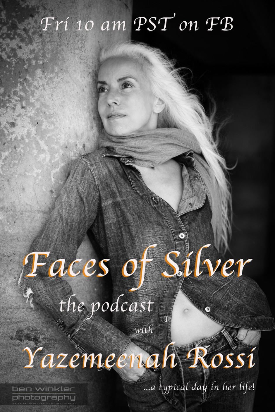 Faces of Silver - the podcast, Episode 7 with Yazemeenah Rossi