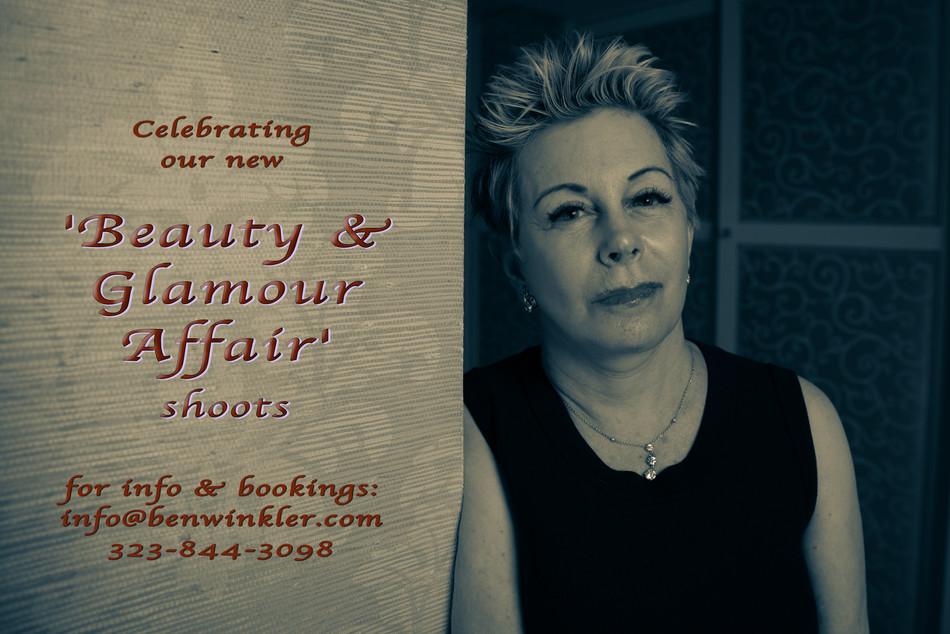 'Beauty & Glamour Affair' shoots