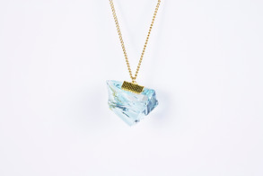 GLASS CHARM NECKLACE