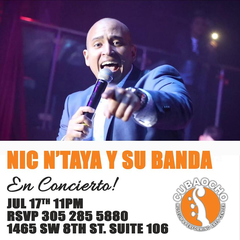 Nic N'Taya en concierto!
