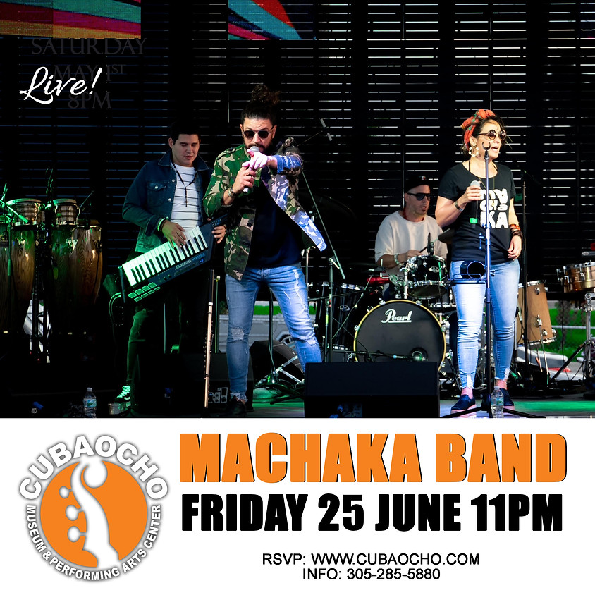Machaka Band Live at Cubaocho!