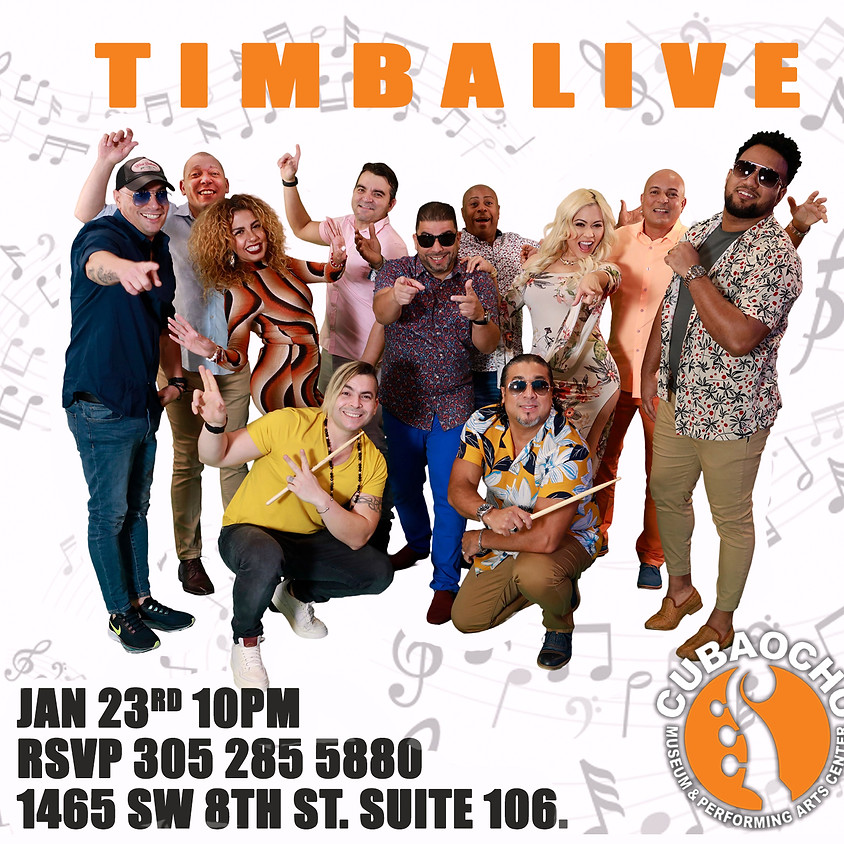 TIMBALIVE is back!