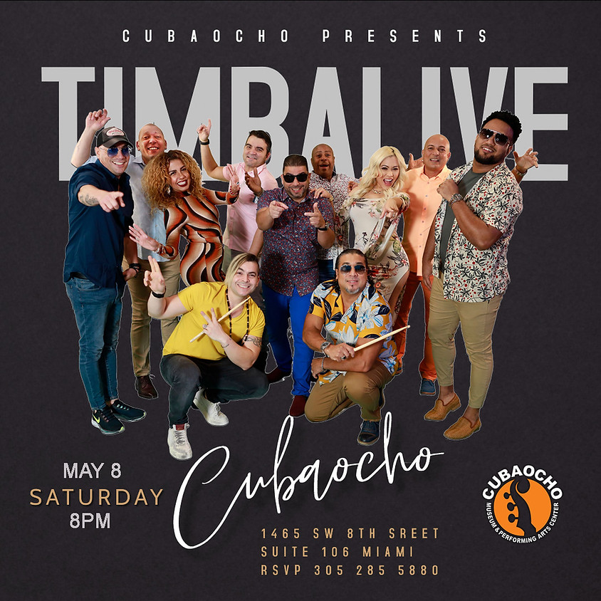 TIMBALIVE live in Cubaocho!