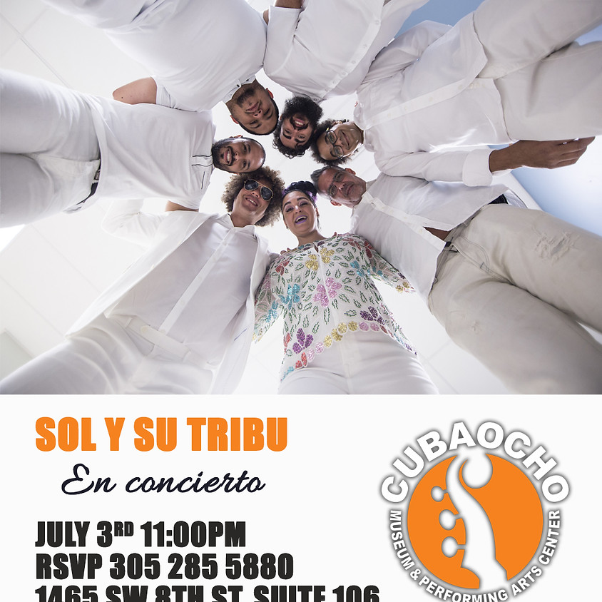 Sol y su Tribu en concierto!