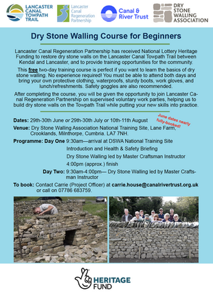 Free Dry Stone Walling Course for Beginners