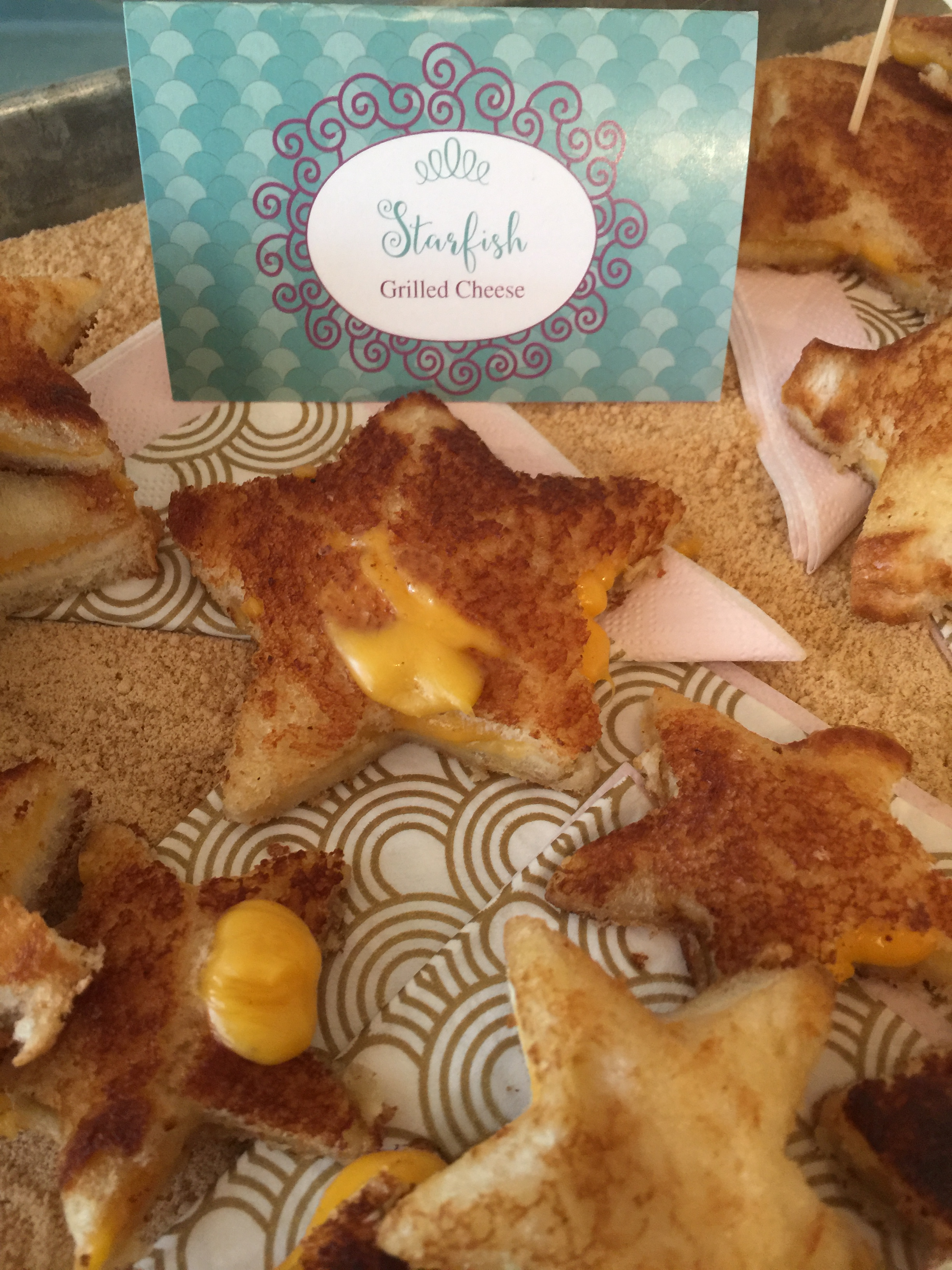 Starfish Grilled Cheese