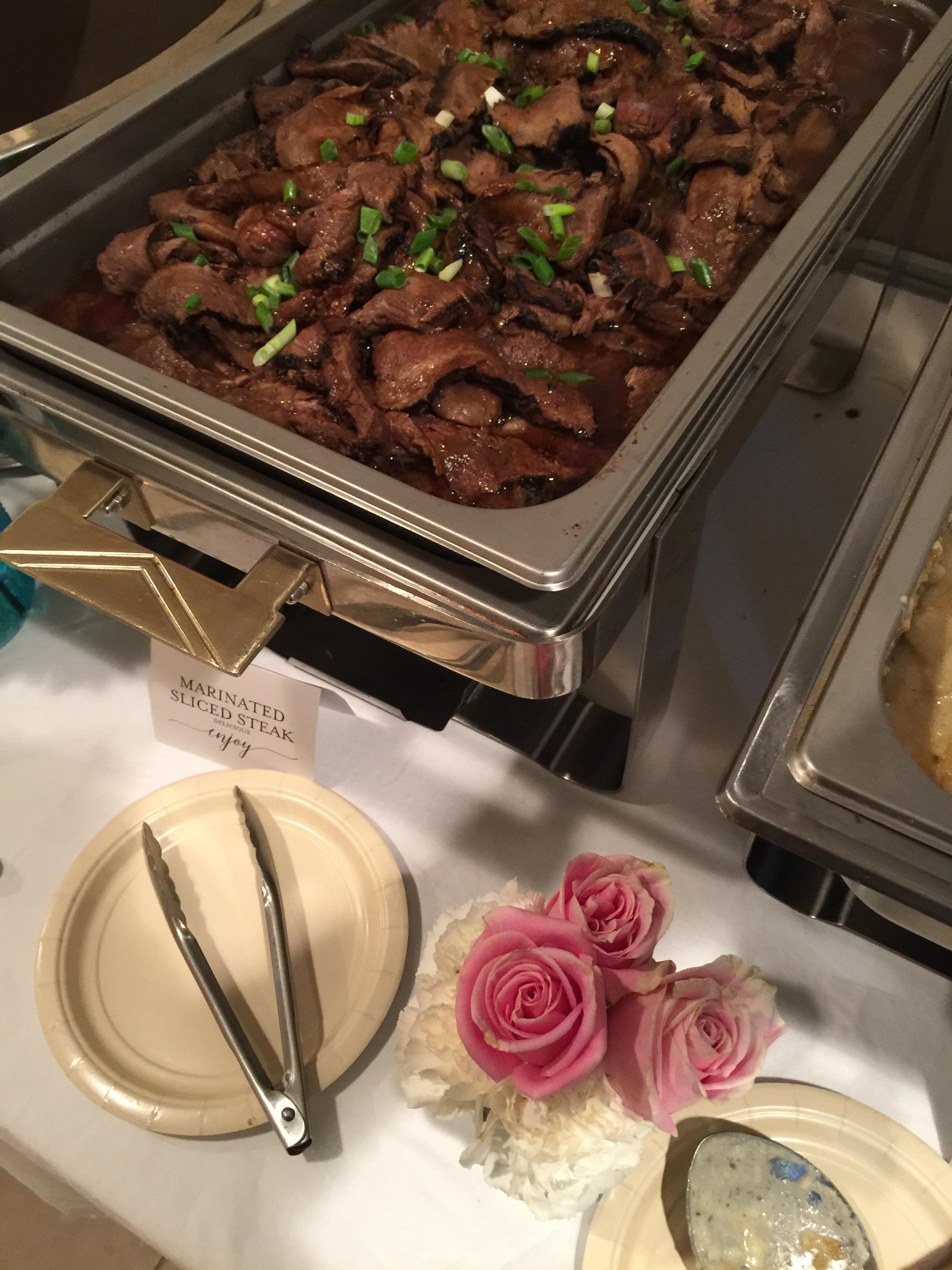 Marinated Sliced Steak