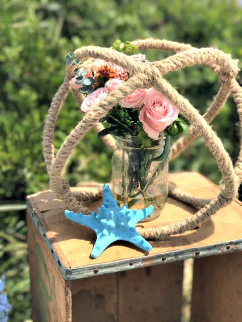 Barbecue on the water- Party decor