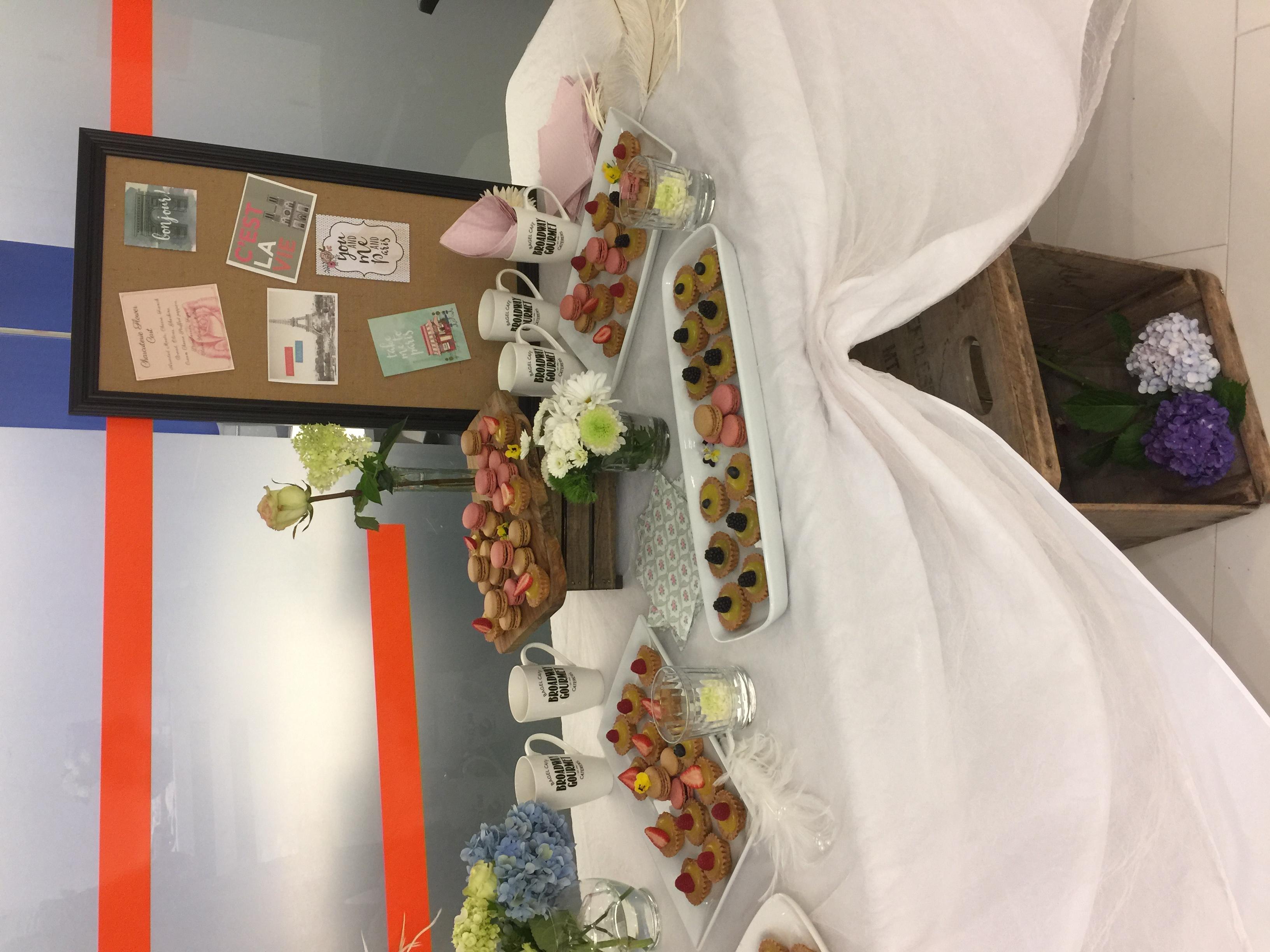 Paris Party Dessert Table
