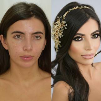 Model HD Airbrush Makeup