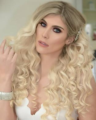 Fall Makeup & Vavuum curls