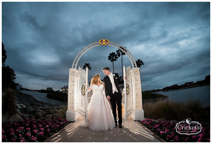 Julia + Jamie's Fairytale Disney Fairytale Wedding