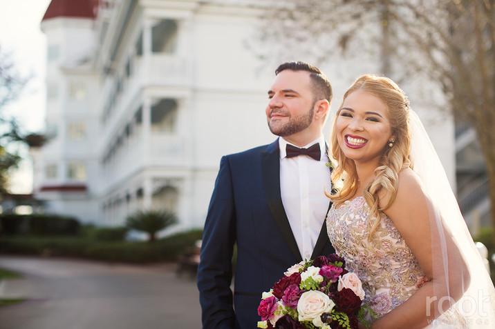 KAREN + ALVARO WALT DISNEY WORLD WEDDING