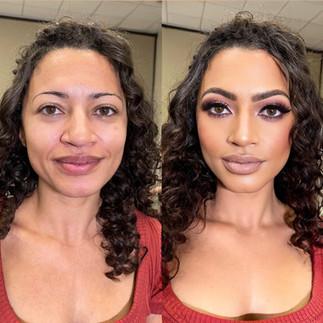 Model Traditional Makeup