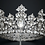 Thumbnail: ROYAL LUXE Bridal Full or Regular Crown with Brilliant SWAROVSKI Crystals
