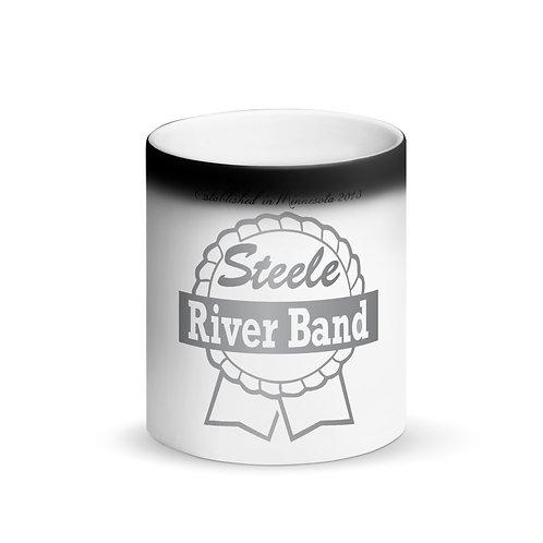SRB (Ribbon Logo) - Matte Black Magic Mug