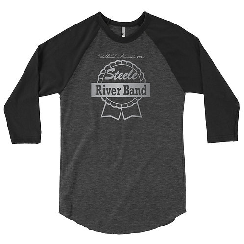 SRB (Ribbon Logo) - Men's 3/4 Sleeve Raglan Shirt