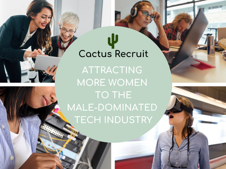 Attracting More Women To The Male-Dominated Tech Industry