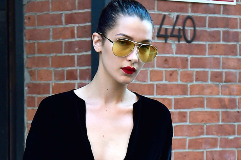 Tendência - Óculos com lentes transparentes