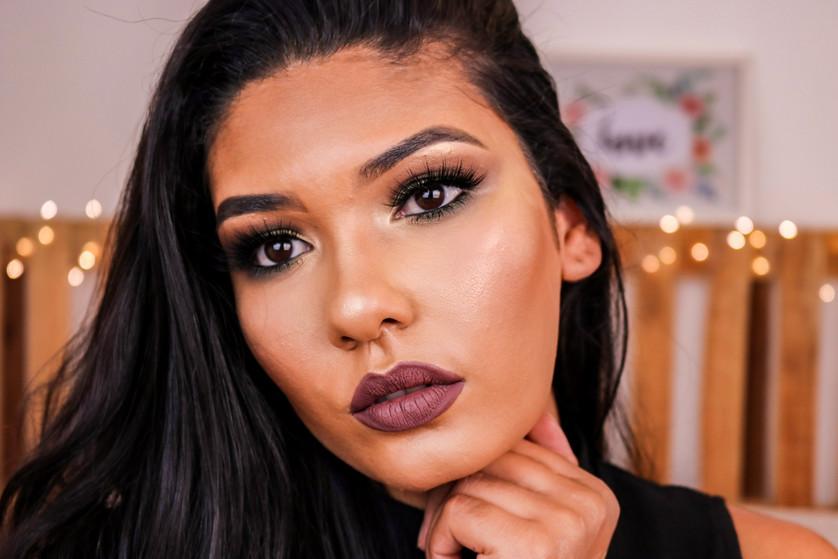 Maquiagem usando APENAS produtos da Ruby Rose