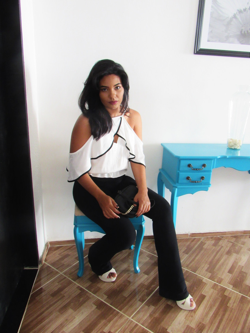 Look do dia: Preto e Branco