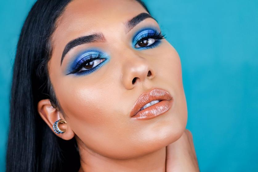 Maquiagem Azul com Ruby Rose