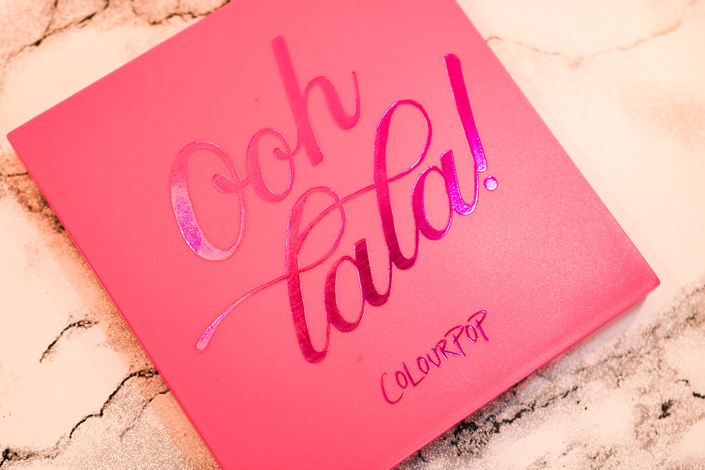Review paleta OOH LA LA ColourPop