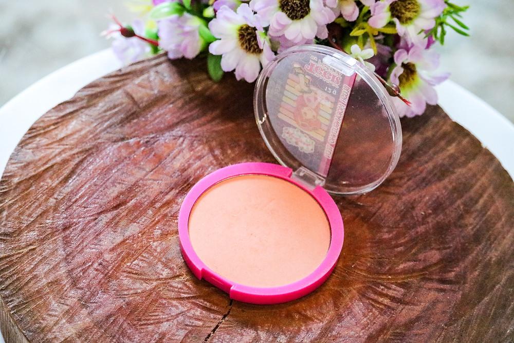Blush ideal para pele morena