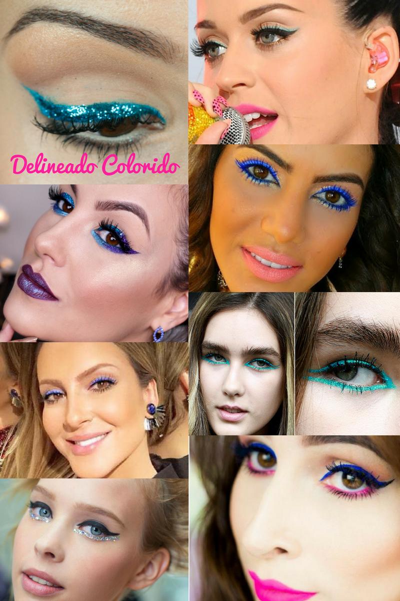 34 Ideias de maquiagens para o bloquinho!!! - Blog Isabela Pierre