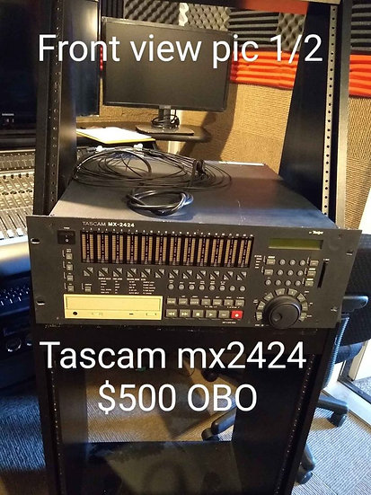 Used Tascam MX-2424