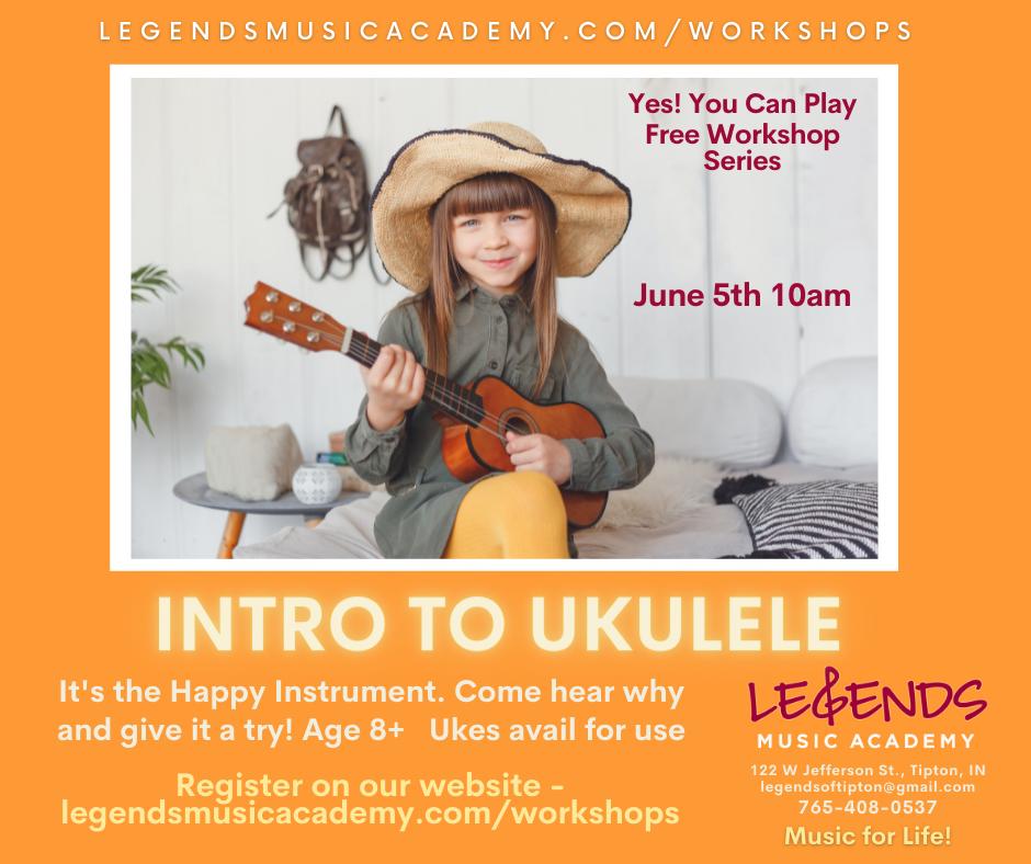 Free Intro to Ukulele Workshop