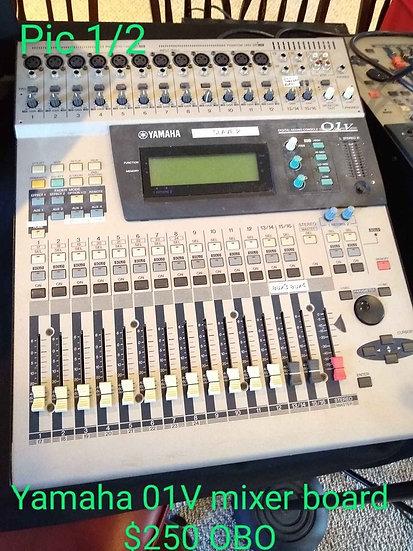 Used Yamaha 01V Digital Mixing Console
