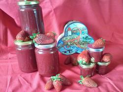 Les confiture fraise maison