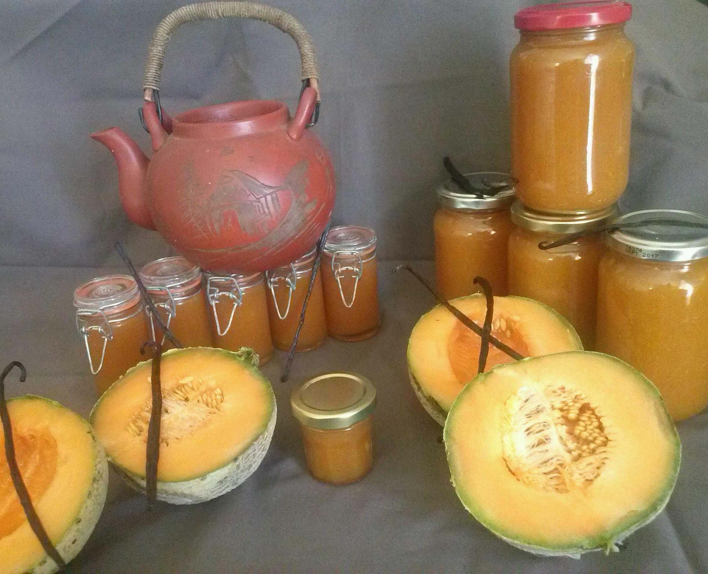 Les confitures melon maison