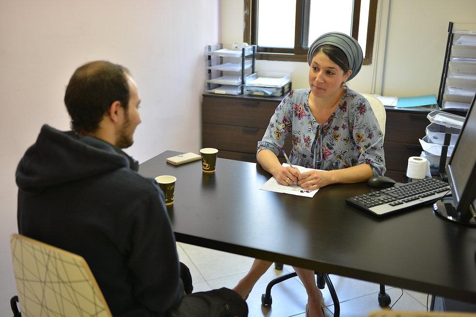 פגישת ייעוץ עם יועצת להשכלה גבוהה