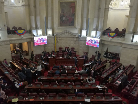 Ley de Regiones fue aprobada en la Comisión Primera de la Cámara