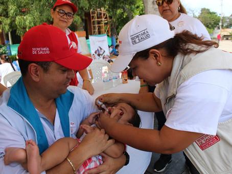 Tras caso de sarampión en Medellín, el Atlántico refuerza vacunación