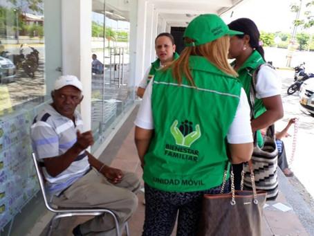 En Valledupar, Bienestar Familiar realiza jornada de sensibilización en contra de la violencia sexua
