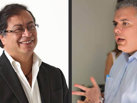 Iván Duque y Gustavo Petro estarán en Barranquilla