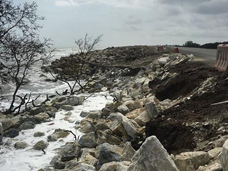 Alerta por nueva emergencia en el kilómetro 19 en la vía Santa Marta - Barranquilla