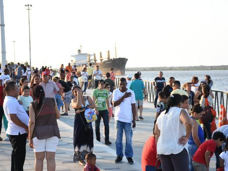 Gran Malecón del Río recibió más 40.000 visitantes en Semana Santa