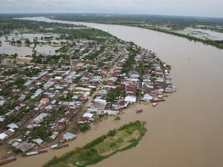 Comunidad en Guaranda, Sucre en alerta por aumento del río Cauca